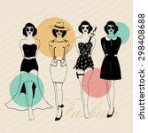vintage retro fashion...