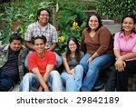 attractive group of hispanic... | Shutterstock . vector #29842189