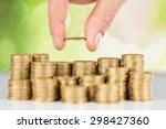 money  save  loan. | Shutterstock . vector #298427360