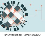 abstract  background with... | Shutterstock . vector #298430300