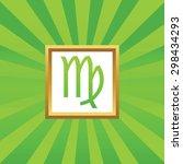 image of virgo zodiac symbol in ...