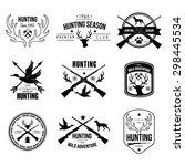 badges labels logo design... | Shutterstock .eps vector #298445534