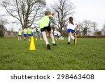 School Children Wearing Sports...