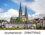 chartres  france   april 19 ... | Shutterstock . vector #298475963
