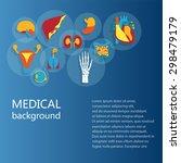 concept of medical background....   Shutterstock .eps vector #298479179