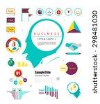 marketting infographic element. ...   Shutterstock .eps vector #298481030