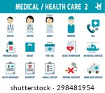 medical   health care  vector... | Shutterstock .eps vector #298481954