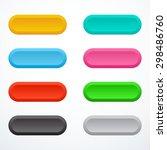 set of buttons | Shutterstock .eps vector #298486760