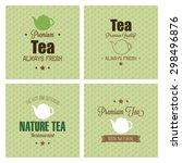 abstract premium tea background ... | Shutterstock .eps vector #298496876