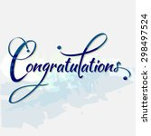 Congratulations Calligraphy In...