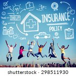 insurance policy help legal... | Shutterstock . vector #298511930