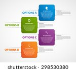 abstract business options... | Shutterstock .eps vector #298530380
