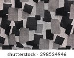 Kit Bag Texture Black   White