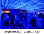 blur background of people at... | Shutterstock . vector #298538720