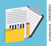 storage concept design  vector... | Shutterstock .eps vector #298543814