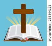 Holy Bible Design  Vector...
