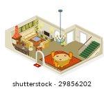 living room furniture | Shutterstock .eps vector #29856202