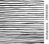 black ink abstract horizontal... | Shutterstock . vector #298565483