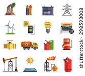 energy generating and storing...   Shutterstock .eps vector #298593008