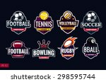 Mega Set Of Colorful Sports...