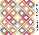 seamless geometrical pattern... | Shutterstock .eps vector #298605920