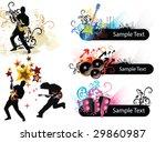 music elements | Shutterstock .eps vector #29860987