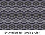 cloth embroidered motifs close   Shutterstock . vector #298617254