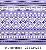 tribal ethnic pattern with...   Shutterstock .eps vector #298624286