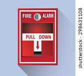 fire alarm | Shutterstock .eps vector #298631108