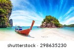 amazing nature and exotic... | Shutterstock . vector #298635230