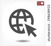 go to web . vector icon 10 eps | Shutterstock .eps vector #298638923