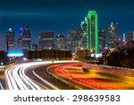 Dallas Skyline By Night The...