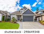 luxury house in vancouver ... | Shutterstock . vector #298649348