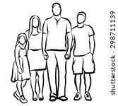 family | Shutterstock .eps vector #298711139