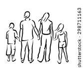 family | Shutterstock .eps vector #298711163