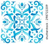 traditional seamless... | Shutterstock .eps vector #298722209