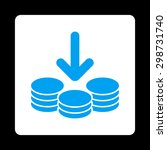income icon from commerce...   Shutterstock .eps vector #298731740