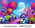 illustration  the colorful... | Shutterstock . vector #298735220