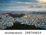 City Of Athens As Seen From...