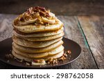 Pancakes With Banana  Nuts And...