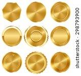 golden premium quality best...   Shutterstock . vector #298793900