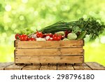 fresh food of vegetables and... | Shutterstock . vector #298796180