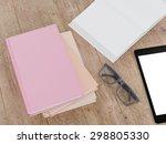 empty book mockup template.... | Shutterstock . vector #298805330