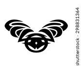 tattoo tribal lower back vector....   Shutterstock .eps vector #298831364