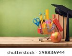 back to school concept with... | Shutterstock . vector #298836944