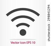 Wifi Symbol. Vector Wireless...