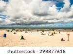 leba  poland   july 20  2015 ... | Shutterstock . vector #298877618