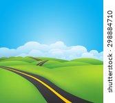 green environment illustration | Shutterstock .eps vector #298884710