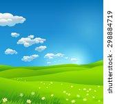 green environment illustration | Shutterstock .eps vector #298884719