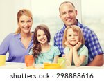 food  family  children ... | Shutterstock . vector #298888616